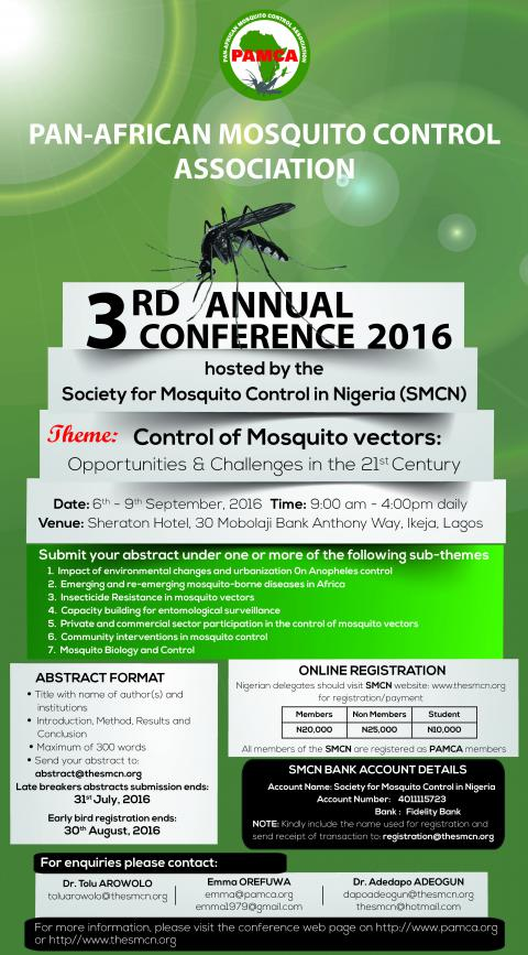 3rd Annual PAMCA Conference