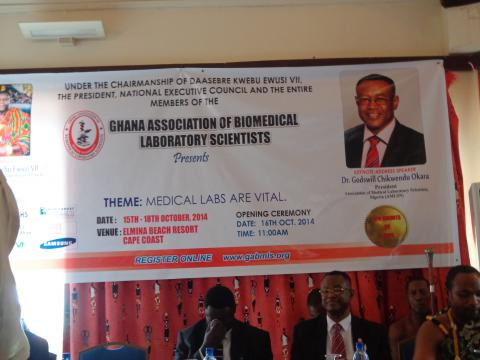 Keynote Address at the annual Conference of the Ghanaian Association of Biomedical Laboratory Scientists