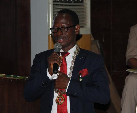 Welcome Address delivered by Alh Toyosi Y. Raheem at AMLSN 2017 Public Health Lecture