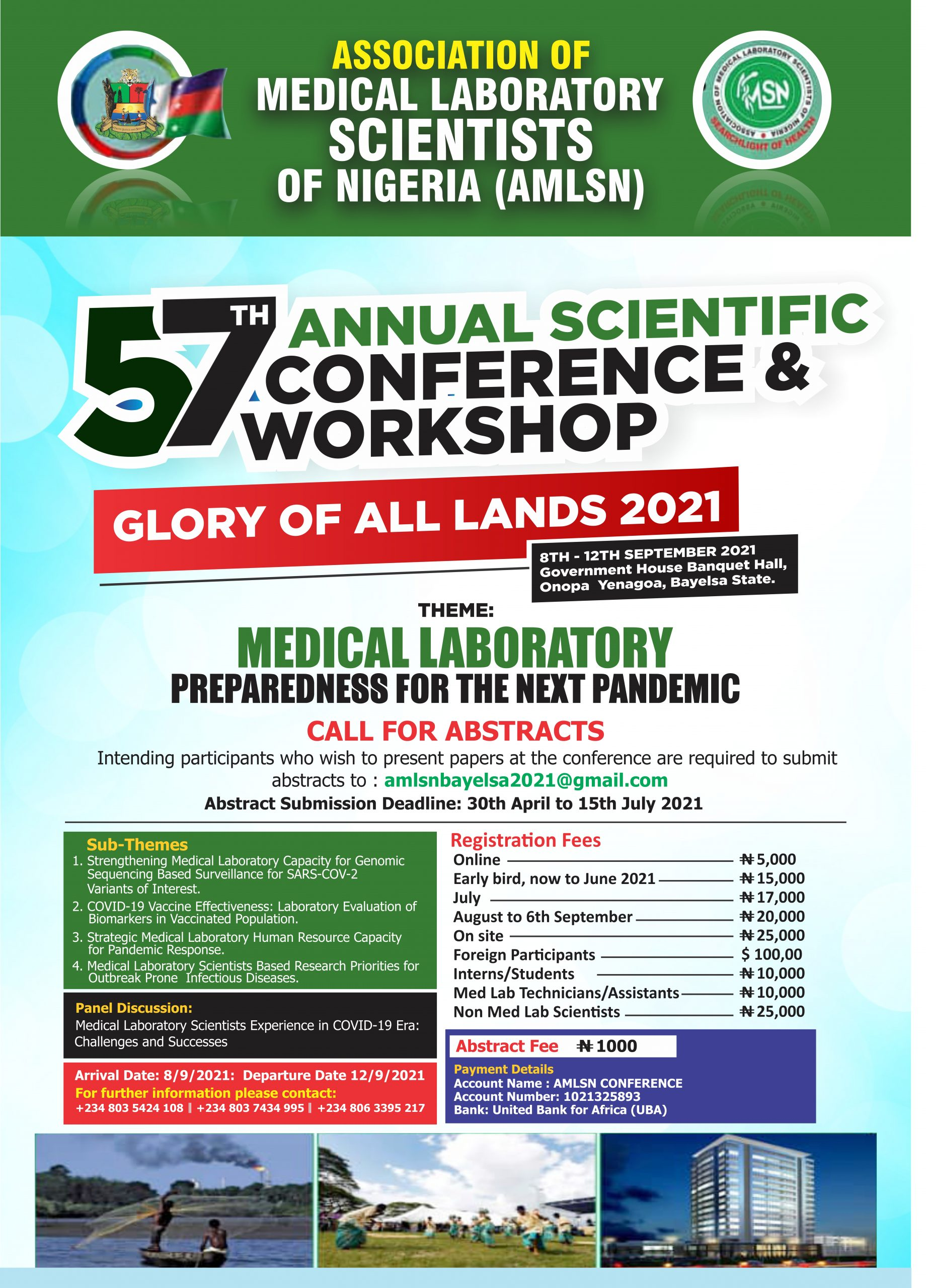 57TH ANNUAL SCIENTIFIC CONFERENCE AND WORKSHOP
